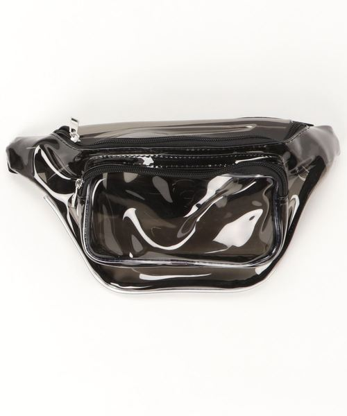 Clear Body Bag , West Bag / クリア ボディバッグ , ウエスト バッグ