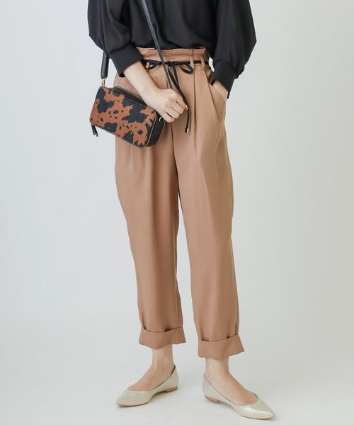 競売 テンセル une タック ウエスト リボン ウエスト テーパード リボン パンツ(パンツ)|une autre(ユノートル)のファッション通販, メタルアーツ:26bdc442 --- garage.getarkin.de