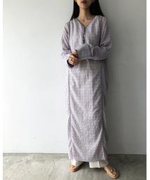 TODAYFUL(トゥデイフル)のエンブロイダリーボイルドレス(ワンピース)