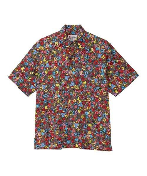MAGICAL LAND柄 ボタンダウンシャツ