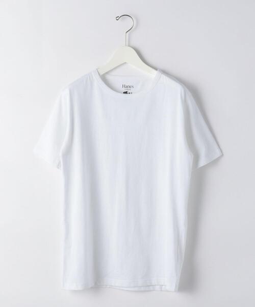 [ ヘインズ ] SC ★ Hanes colors クルーネック Tシャツ