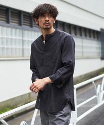 CIAOPANIC TYPY(チャオパニックティピー)のワッフル織り7分袖プルオーバーシャツ(シャツ/ブラウス)