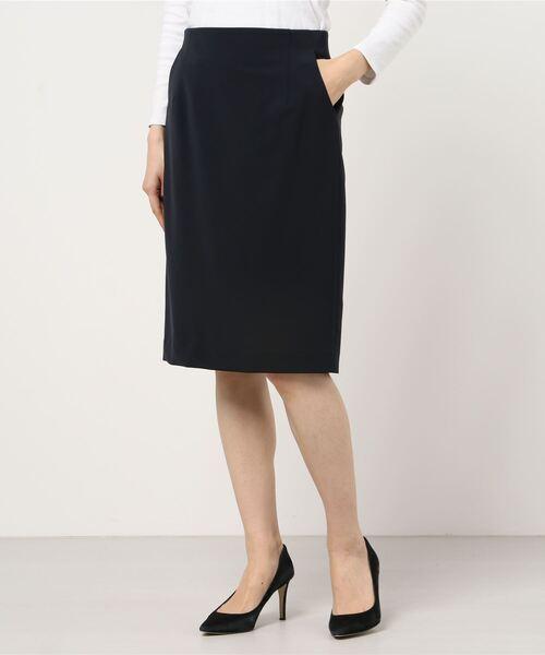 洗えるストレッチタイトスカート(カセット服)