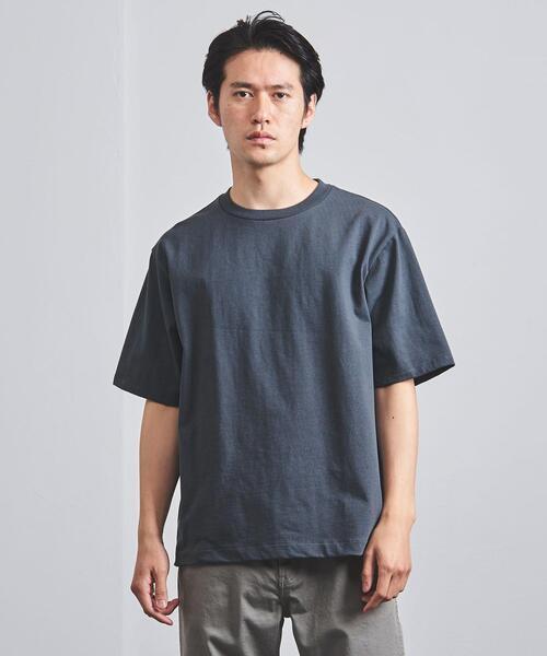 <BLUE(ブルー)> オーガニック ヘヴィーウェイト Tシャツ