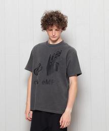 <C.E>TWISTED OVERDYE T-SHIRT/シャツ.