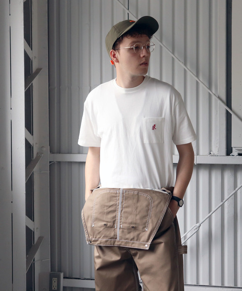 【 GRAMICCI / グラミチ 】ONE POINT TEE GUT-19S085