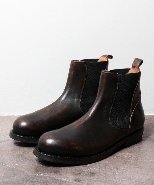 【正規通販】 BUTTEROB4426 ヴィンテージ加工サイドゴアブーツ(ブーツ)|BUTTERO(ブッテロ)のファッション通販, 山門郡:9483be9e --- kredo24.ru