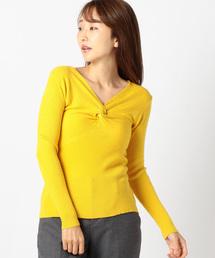 MEW'S REFINED CLOTHES(ミューズリファインドクローズ)の前ねじりニット(ニット/セーター)