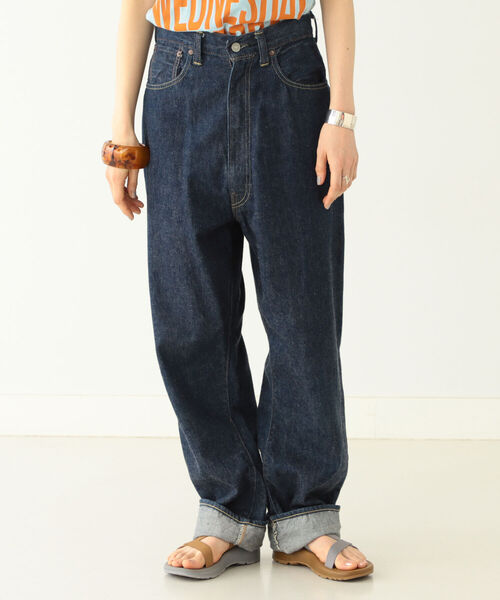 BEAMS BOY(ビームスボーイ)の「orSlow × BEAMS BOY / 別注 Monroe Pants Special(デニムパンツ)」|インディゴブルー