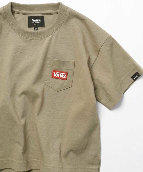 WEB限定 VANS×FREAK'S STORE/ヴァンズ 別注 KIDS ビッグシルエット HEAL PATCH Tシャツ