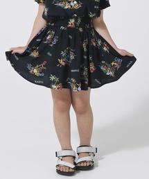 【ママとおそろい・coen キッズ/ジュニア】アロハプリントスカート