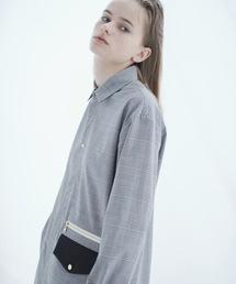 CULLNI(クルニ)の2019秋冬 グレンチェックロングシャツ(シャツ/ブラウス)