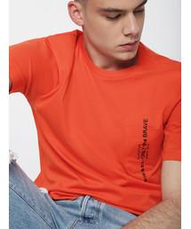 DIESEL(ディーゼル)のメンズ Tシャツ ポケット刺繍デザインTシャツ(Tシャツ/カットソー)