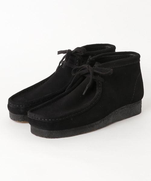 一番の Wallabee Boot Boot/メンズ ワラビーブーツ/メンズ (ブラックスエード)(ブーツ)|Clarks(クラークス)のファッション通販, 土庄町:e76a865f --- blog.buypower.ng