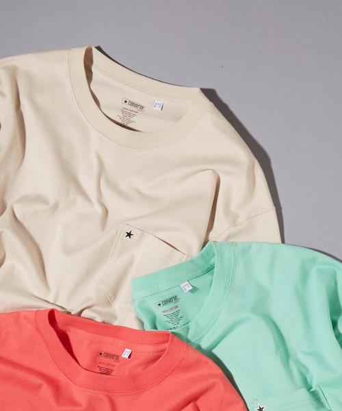 CONVERSE TOKYO/コンバーストウキョウ ポケットTシャツ