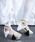 AULA(アウラ)の「【AULA】クリアサンダル(サンダル)」|ホワイト