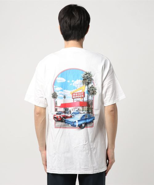 【IN-N-OUT BURGER/インアウトバーガー】Print Tee  (UN)