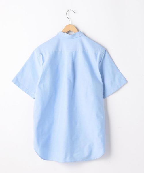 クレイジーボタンオックスフォードシャツ半袖