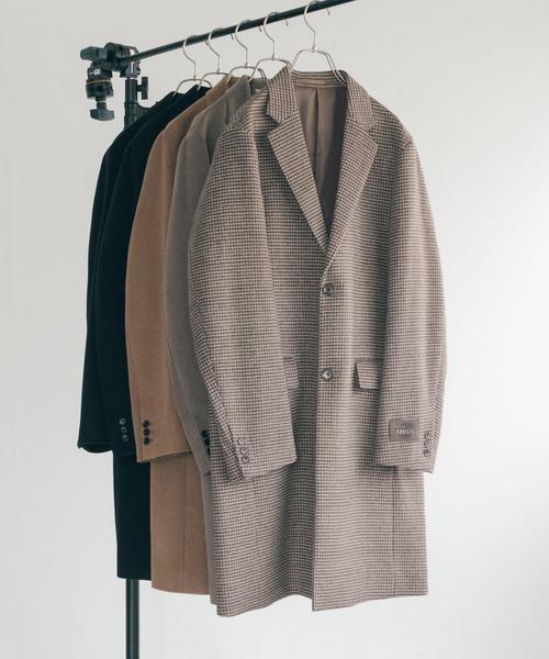 本物の NOBILIA URBAN RESEARCH CHESTER CHESTER COAT(チェスターコート)|URBAN RESEARCH(アーバンリサーチ)のファッション通販, 黒川村:f307f12c --- munich-airport-memories.de