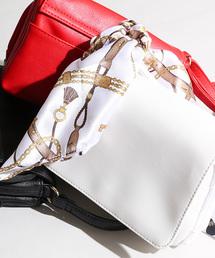 WEGO(ウィゴー)のWEGO/【2点セット】スカーフ付き多機能ショルダーバッグ(ショルダーバッグ)