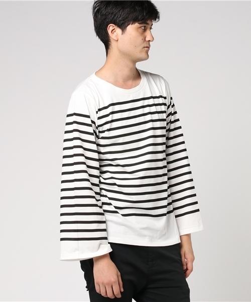 最大の割引 【セール】MASTER&Co. マスター&コー BORDER Long Sleeve Sleeve T-shirt(Tシャツ Long/カットソー) COLLECTORS(コレクターズ)のファッション通販, トヨサカチョウ:76f86231 --- fahrservice-fischer.de