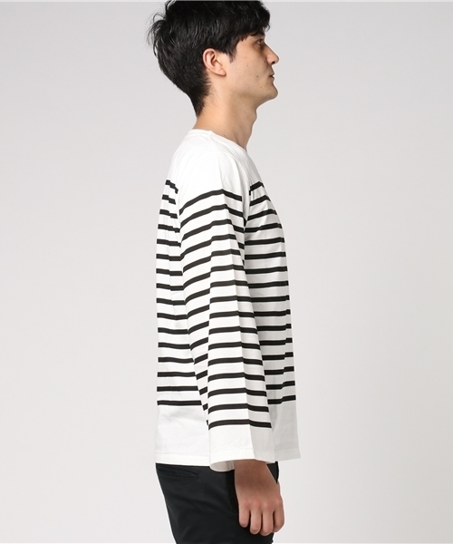 MASTER&Co. マスター&コー BORDER Long Sleeve T-shirt