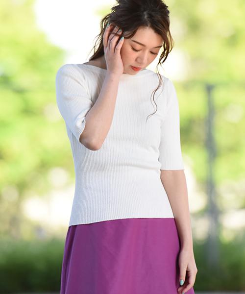 1着でも送料無料 【セール】ブークレリブニット(ニット/セーター)|Droite lautreamont(ドロワットロートレアモン)のファッション通販, BELLEshop:25f579a8 --- svarogday.com