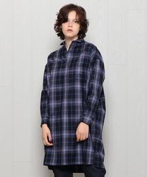 <TICCA>SQUARE BIG LONG SHIRT/シャツ