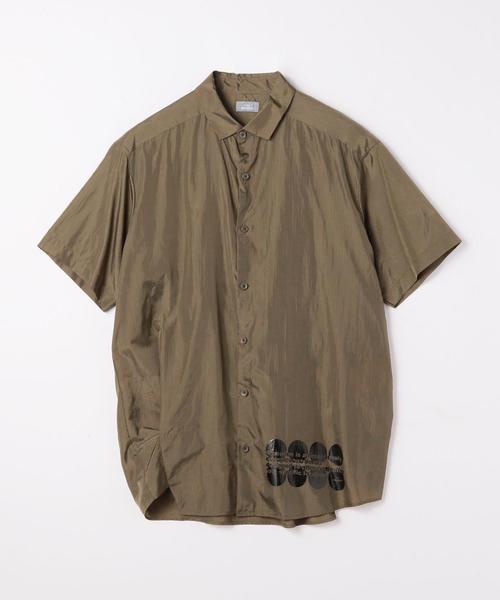 kolor / BEACON リップストップナイロン 半袖シャツ
