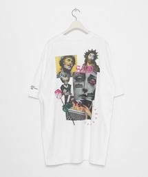 LEGENDA(レジェンダ)のSAD BOY ルーズシルエットクルーネックTシャツ(Tシャツ/カットソー)