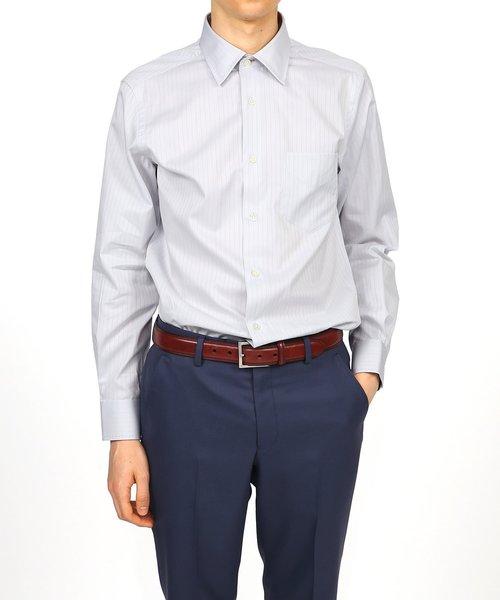 セール特価 SHADOW STRIPE DRESS SHIRT / 193203 801PNM, あきらファーム 6d49312f
