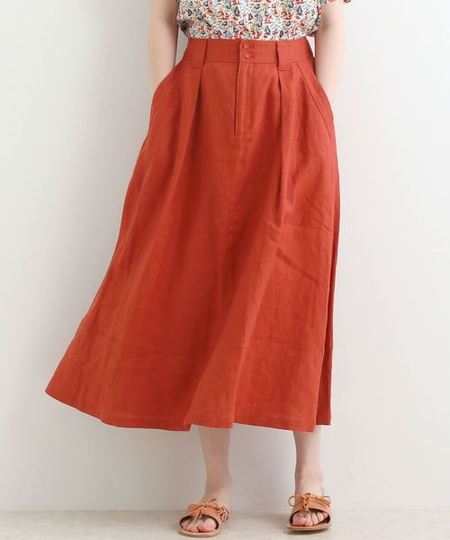 人気が高い 【セール】LINEN ワイドフレアースカート(スカート)|NIMES(ニーム)のファッション通販, クイーンズコレクション:d3f30026 --- hundeteamschule-shop.de