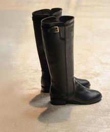 SESTO(セスト)のサイドベルトのジョッキーブーツ/ロングブーツ(ブーツ)