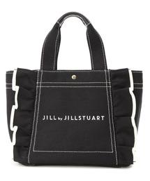 JILL by JILLSTUART(ジルバイジルスチュアート)の◆フリルトートバッグ(小)(トートバッグ)