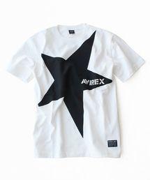"""AVIREX(アヴィレックス)の【WEB&DEPOT限定】ビッグ スター """"アヴィレックス""""ロゴ  ティーシャツ/BIG STAR  """"AVIREX"""" LOGO S/S T-SHIRT(Tシャツ/カットソー)"""