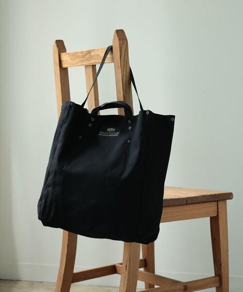 BAG'n'NOUN × fennica / 別注 キャンバス ツールバッグ ブラック (ユニセックス)