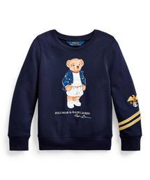 NEW NWT Polo Ralph Lauren Girls Black Long Sleeve T-Shirt PINK PONY Logo *3D