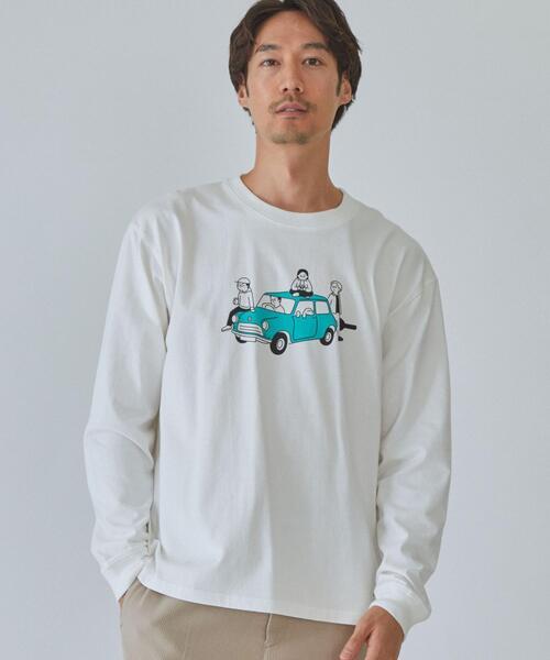 松本セイジ GLR 別注 男女 兼用 ユニセックス 長袖 ロンT CAR カットソー #