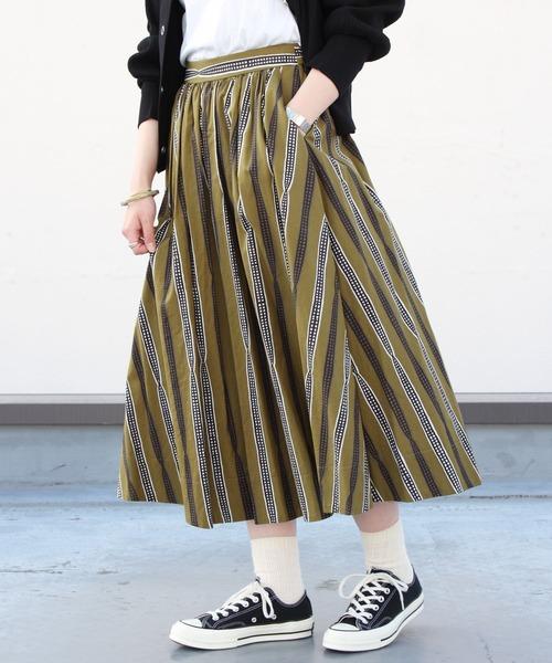 LE GLAZIK / ル グラジック プリントスカート PRINT SKIRT JL-5076