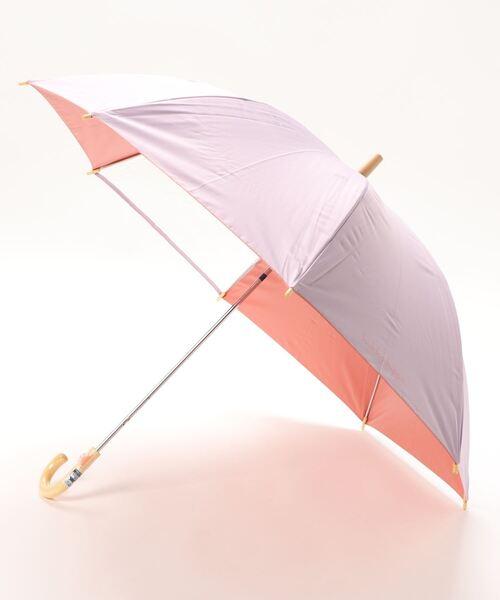 【 kukka hippo / クッカヒッポ 】 キッズパラソル 晴雨兼用無地傘 55cm KH-KSPW OGW  アンブレラ