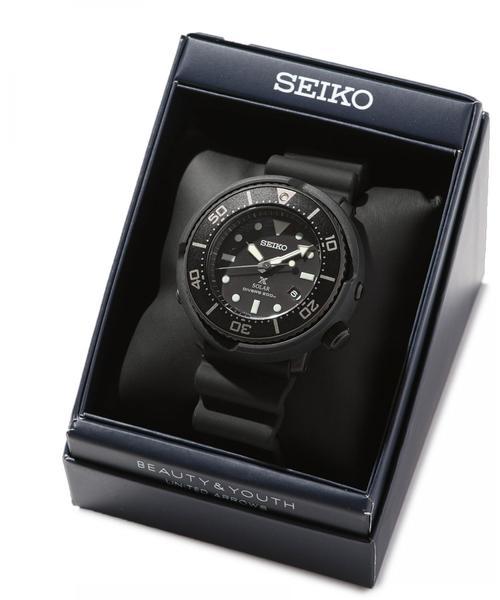 【別注】 <SEIKO(セイコー)> DIVERWATCH BLACK/腕時計