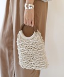 TODAYFUL | TODAYFUL(トゥディフル)  ''Circlehandle Macrame Bag''(ハンドバッグ)