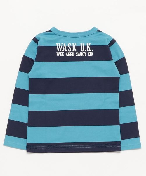 WASK/太ボーダーTシャツ
