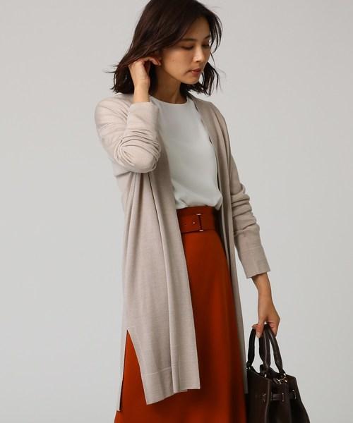 良質  [L]ウール混トッパーカーディガン(カーディガン)|UNTITLED(アンタイトル)のファッション通販, blancdejuillet ブランドジュリエ:faa3c1d7 --- skoda-tmn.ru