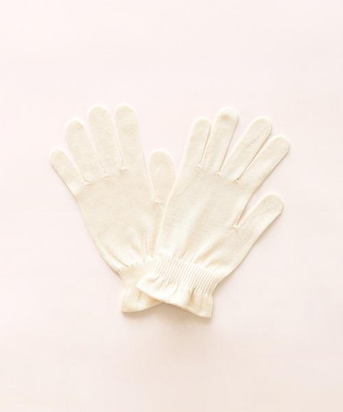 【warmth/ウォームス】おやすみシルク手袋 WST