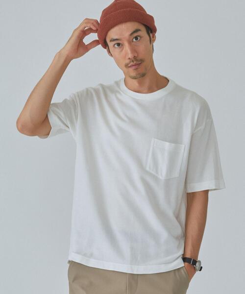 CSM ソフトツイル クルーネック 半袖 Tシャツ カットソー