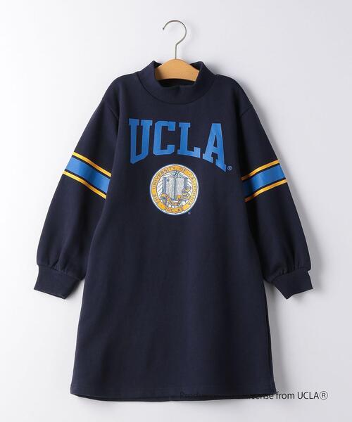 【キッズ】UCLA ソデライン ワンピース