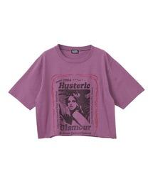 HEARTBEAT ショートTシャツパープル