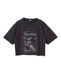 HEARTBEAT ショートTシャツブラック