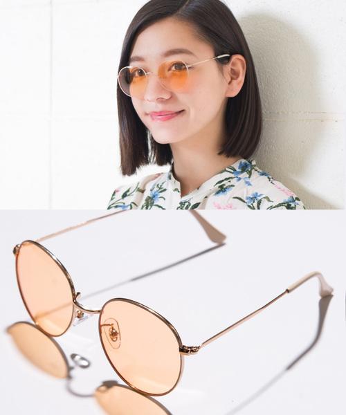 ENTRA(エントラ)の「ENTRA / サングラス 伊達眼鏡 UVカット カラーレンズサングラス(サングラス)」 その他3